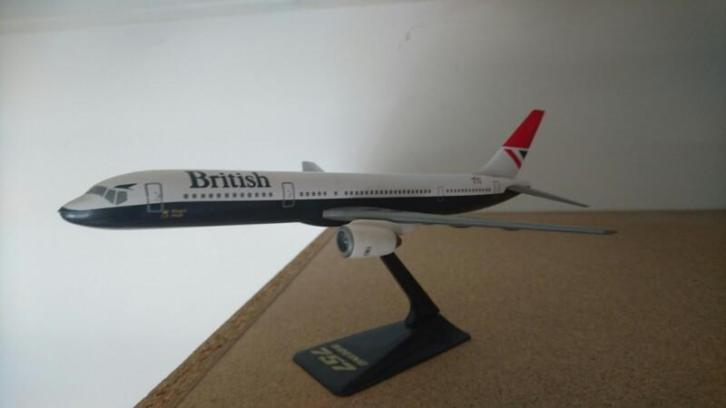 Boeing 757-200 1/200 British Old scale British Airways