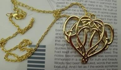 Elrond Ketting - The Hobbit Lord Of The Rings LOTR