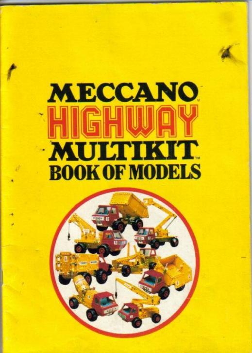 Meccano Highway Multikit book of models