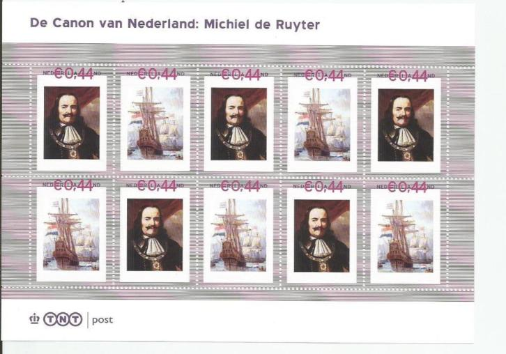 (nom) Vel Michel de Ruyter zie scan