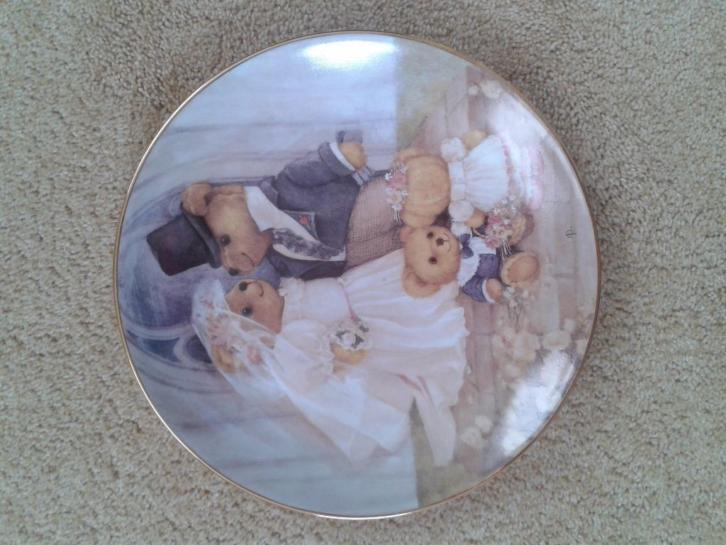 Franklin Mint Heirloom Recommendation bord Just Married