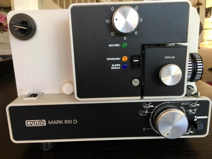 Eumig film projector mark 610D