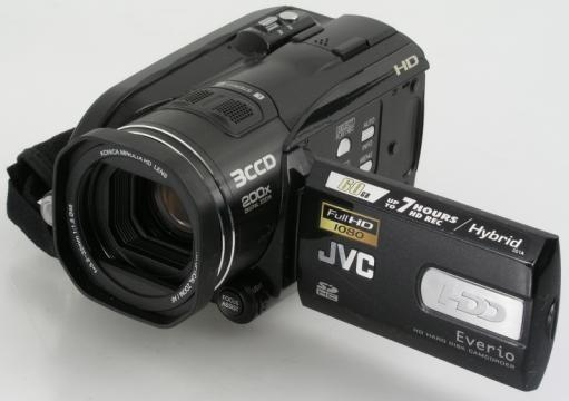 JVC HD Everio GZ-HD3 (HDD 60GB & SD)