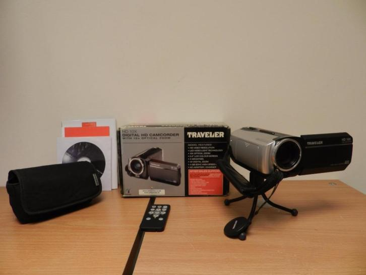 Traveler HD IOX Camera | Digitale videocamera
