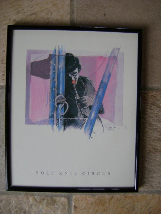 Litho - Rolf Knie circus