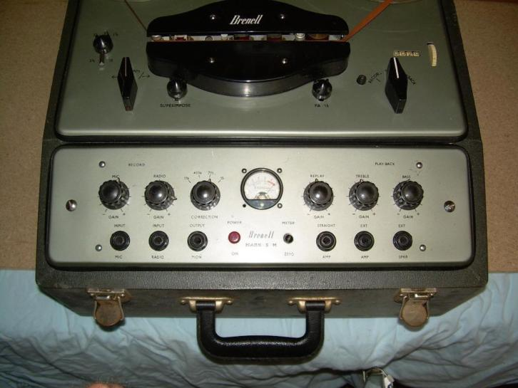 Legendarische BRENELL MARK 5M taperecorder