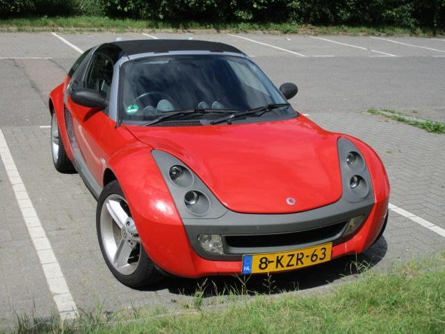 Smart Roadster 0.7 60KW Coupe AUT 2004 Rood