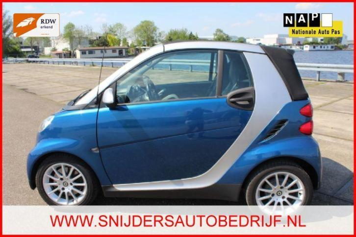 Smart Fortwo 1.0 mhd Passion LEER/AUTOM/WINTERSET (bj 2009)