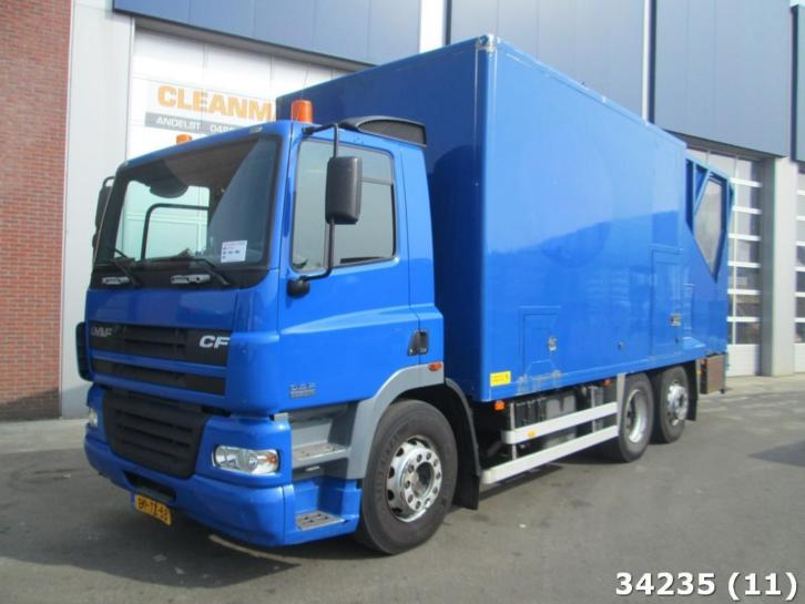 DAF FAN 85 CF 340 Container washing truck (bj 2004)