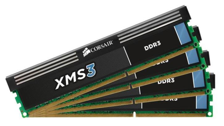 Corsair XMS3 1333 2x 4GB dual chanel geheugen
