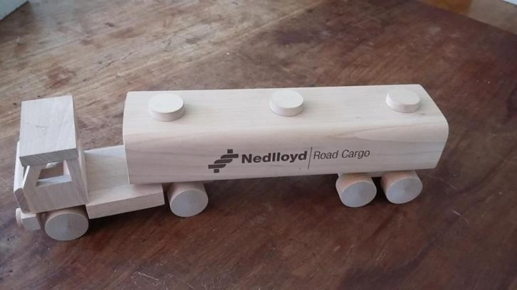 collecter item houten Nedlloyd truck