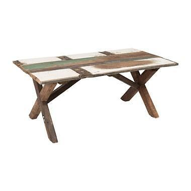 Salontafel recycle cross - 110x60x45 cm