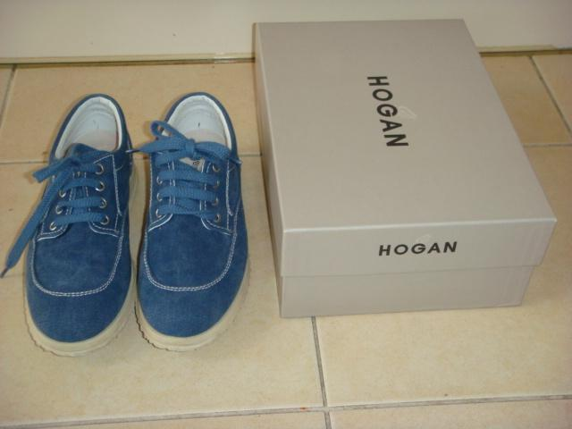 Hogan denim blauwe canvas sneakers maat 37,5 ZGAN