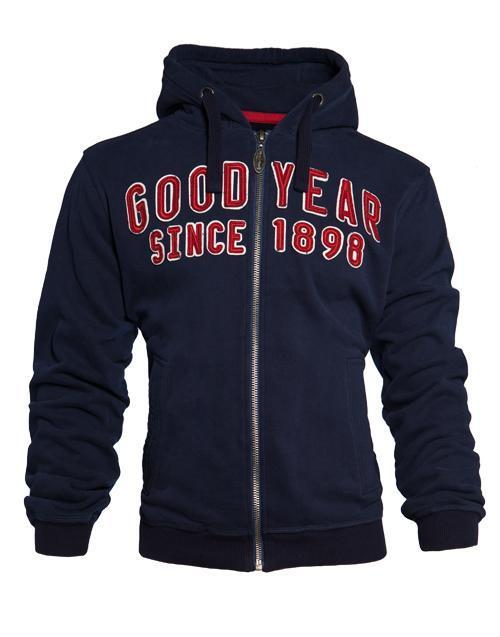 Goodyear Hooded Zip Sweat Fayetteville Maat XXL