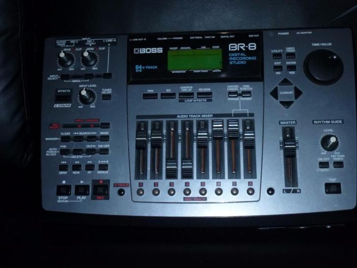 digitale recorder Boss BR-8