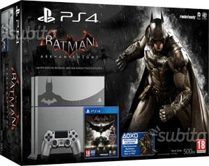 PS4 Steel Grey Limited Edition Batman i.ntrovabile